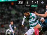 Santos vino de atrás y logró sacar el empate ante Puebla