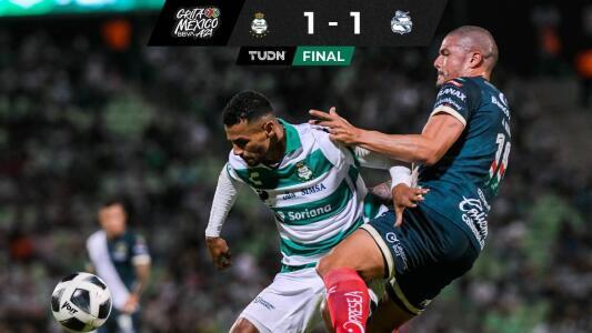 Santos rescatan un punto ante el Puebla