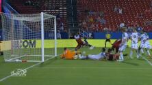 Revisión en video valida el gol del hondureño Maynor Figueroa y el 1-0 para FC Dallas
