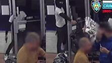 (VIDEO) Pandillero que cambió de bando, fue baleado en una barbería