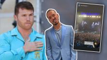 """""""La mera, mera del mundo"""": Saúl 'Canelo' Álvarez se roba el escenario en pleno concierto de J Balvin"""
