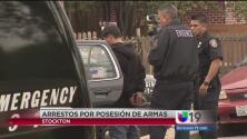 Arrestan a menor de 12 años por poseer un arma