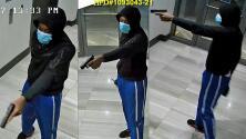 Autoridades buscan identificar a sospechoso de robo agravado con un arma mortal