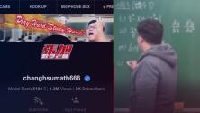 Maestro ofrece clases de matemáticas en sito web para adultos y se vuelve un éxito