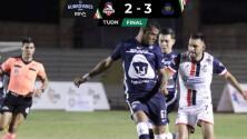 Resumen | Pumas Tabasco sorprende 2-3 a Cimarrones y se mete a cuartos