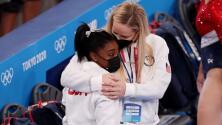 Simone Biles dice adiós a la Final de piso en Tokyo 2020