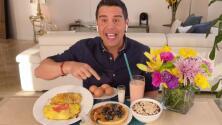 ¿Qué comer para no engordar? Chabán nos dio la dieta ideal para llenar de energía a los participantes de MQB