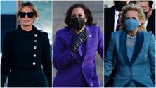 Melania Trump, Kamala Harris y Jill Biden: qué vistieron y qué pretendían comunicar en el día de la juramentación de Biden