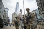 1,000 miembros de la Guardia Nacional llegan a Filadelfia mientras la nación espera el veredicto de Chauvin