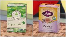 Diferentes tipos de té, alimentos y objetos que pueden ayudar a conciliar el sueño