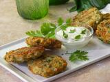Tortitas de cilantro y queso manchego en 30 minutos