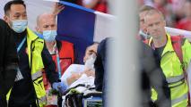 """UEFA premia médicos que salvaron a Eriksen: """"Verdaderos héroes"""""""