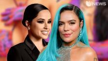 Karol G Y Becky G encienden las redes con el mismo traje de baño, y los fans especulan que podría venir una colaboración