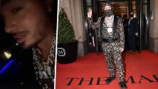 """""""Como cuando a un perro le quitas la cadena"""": J Balvin termina marcado por su atuendo en el Met Gala"""