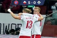 Resumen | Agridulce goleada de Polonia a San Marino