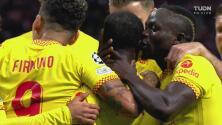 ¡Golazo del Liverpool! Naby Keïta pendre la pelota y marca el 0-2