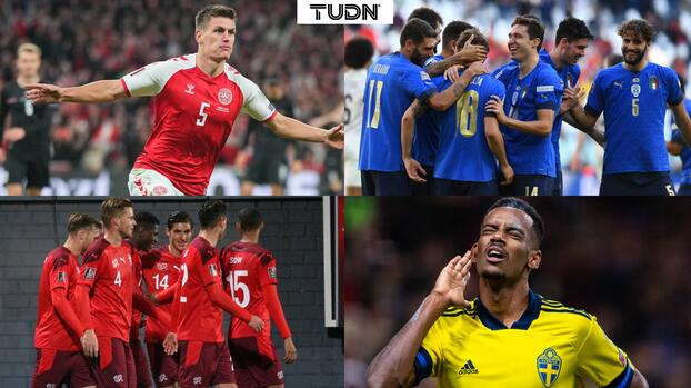 ¡Segundo clasificado a Qatar 2022! Dinamarca logra boleto al Mundial