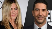 ¿Otra reunión de Friends? Se alzan rumores sobre una relación entre los solteros Jennifer Aniston y David Schwimmer
