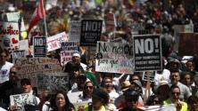 'Área la Bahía en un Minuto': arrestan a cuatro activistas en Oakland que hacían parte de las marchas del Día del Trabajo