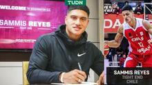 ¡Primer chileno en la NFL! Sammis Reyes firma con Washington