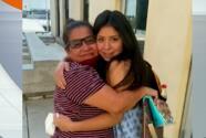"""""""Me quedé paralizada"""": madre mexicana se reencuentra con su hija secuestrada hace 14 años"""