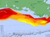 Regresa la zona muerta al Golfo de México: este año es más grande que Connecticut
