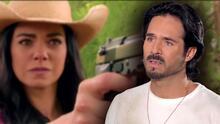 """""""Me puse nervioso"""": José Ron reacciona a la escena donde le disparan en La Desalmada"""