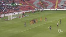 ¡Otro golazo de Sanvezzo! El Querétaro ya le gana 2-0 a Dorados