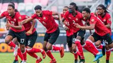 Trinidad y Tobago se mete a la Copa Oro 2021 y enfrentará a México