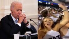 """""""F**k Joe Biden"""": ¿A qué se deben los cantos en contra del Presidente durante eventos deportivos?"""