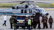 Lo que se sabe del ataque a tiros contra helicóptero en el que viajaba el presidente de Colombia Iván Duque