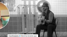 """""""Yo era muy fan, me deshizo"""": La Bronca recuerda cuando conoció a Ricardo Arjona, luego de que pasara desapercibido al cantar en el metro"""