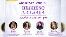 """""""Ansiedad por el regreso a clases"""": aclara tus dudas este jueves 19 de agosto en el foro de Univision 40"""