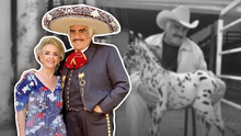 """""""Cuquita como que presiente algo"""": Rumoran que la esposa de Vicente Fernández ha pedido su traslado al rancho 'Los 3 Potrillos'"""