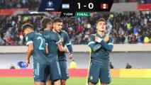Yotún vuela un penal y Argentina camina firme a Qatar 2022
