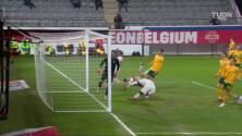 De Bruyne sacó un zapatazo y puso el 1-1 de Bélgica ante Gales