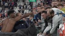 Tras remontada de Francia, Lemar regala su playera y desata trifulca