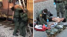 Rescatan a 27 inmigrantes que viajaban escondidos dentro de un tren en Texas; uno de ellos estaba inconsciente