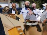 """""""Esto es un código rojo"""": Biden advierte sobre el cambio climático durante su visita a Nueva Jersey y NYC"""