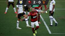 Flamengo venció a Sport Recife y se consolidó en los primeros puestos