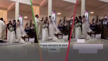"""Le prometió ser """"infiel"""": La reacción de una novia cuando su pareja se equivoca al decir sus votos en el altar"""