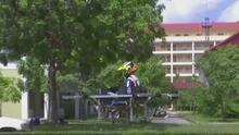 Innovación estudiantil: alumnos crean un dron que puede transportar una persona a 13 pies de altura