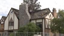 Cae rayo en una casa de Mesa y provoca incendio