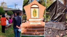 """""""Un ataque a la Virgen es un ataque a los hispanos"""": feligreses reclaman retiro de imagen de la Virgen de Guadalupe"""