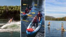 Si buscas pasar tiempo en familia y disfrutar de actividades acuáticas, visita el lago Bass