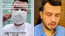 (Video) Edén Muñoz de Calibre 50 deja oír su voz por primera vez tras difícil operación en su garganta
