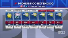Regresa la posibilidad de lluvias al Metroplex