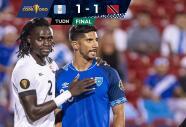 Guatemala y Trinidad y Tobago se despiden de la Copa Oro tras empatar 1-1