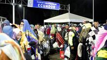 Un día en las casas de paso que albergan a los migrantes venezolanos varados tratando de entrar a Ecuador