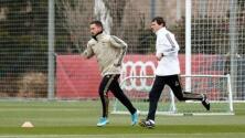 Otra buena noticia para el Madrid: Hazard regresó a los entrenamientos